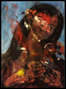 "Olsen Ross -  Roanoke, 201.8 Acrylic on Paper  24"" x 18"""